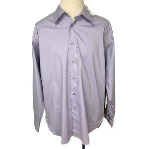 Gap Men's Stretch purple Long Sleeve XL EUC
